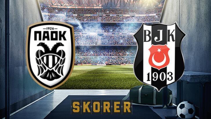PAOK-Beşiktaş maçı hangi kanalda yayınlanacak? PAOK-Beşiktaş maçı ne zaman?