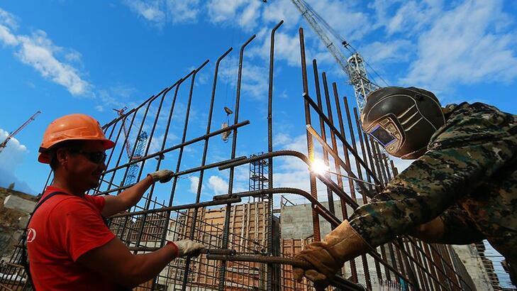 AB'de inşaat üretimi haziranda yükseldi