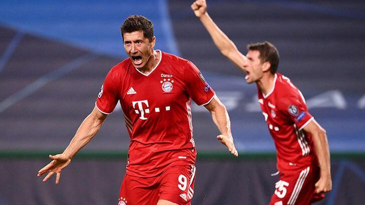 Şampiyonlar Ligi'nde Bayern Münih fırtınası