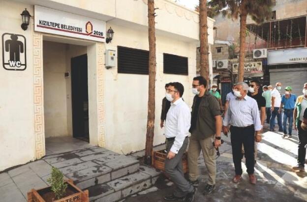 Kızıltepe'de umumi tuvalet hizmete açıldı