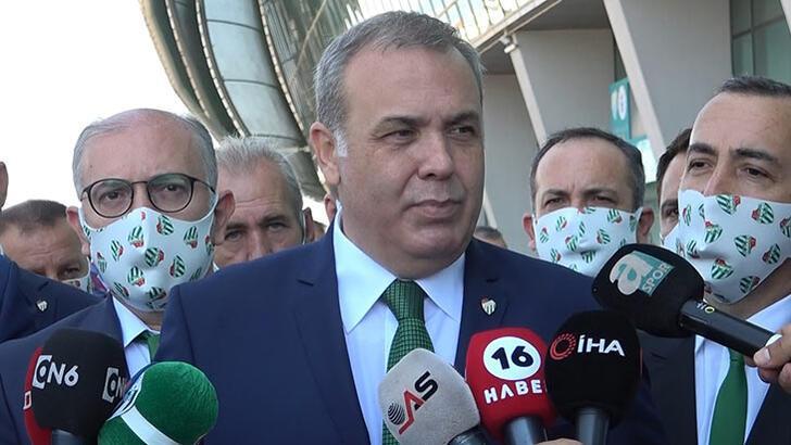 Son dakika | Bursaspor'da Erkan Kamat başkan seçildi!
