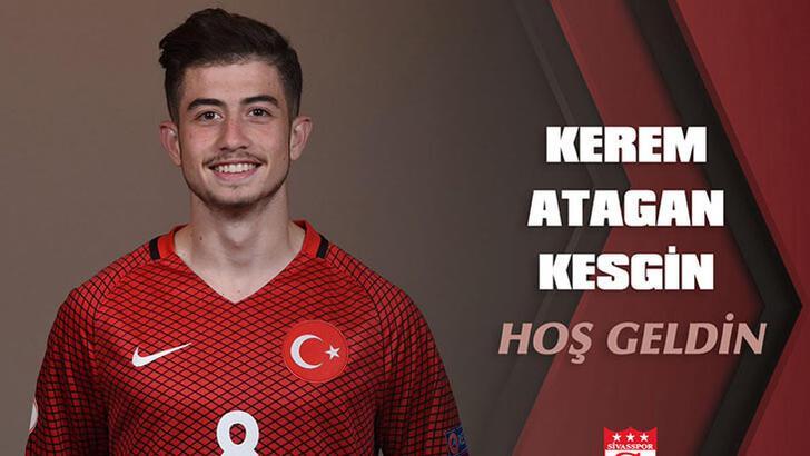 Son dakika | Sivasspor, Kerem Atakan Kesgin ile anlaştı!