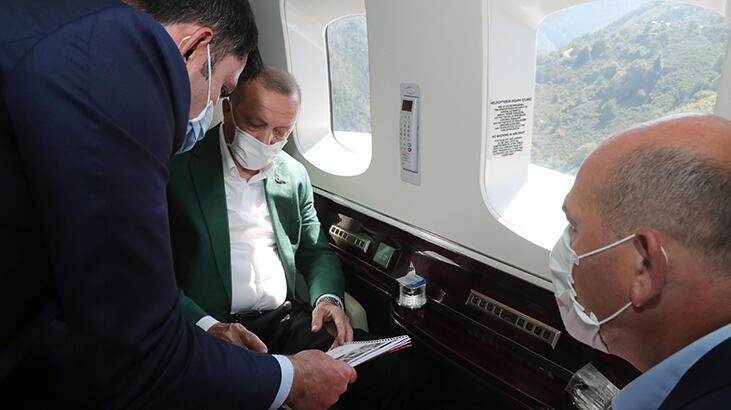 Son dakika! Cumhurbaşkanı Erdoğan Giresun'da!