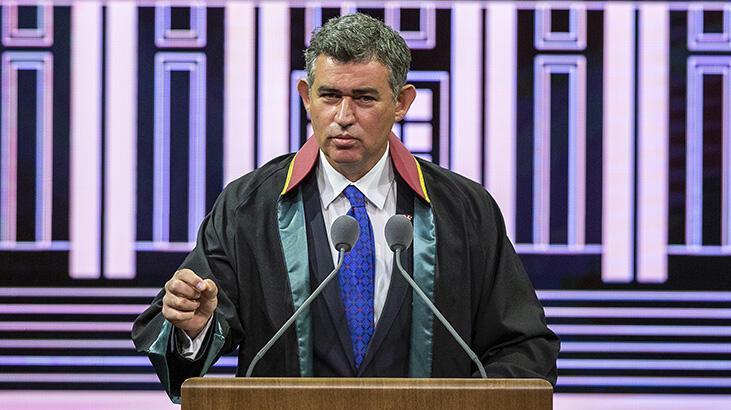TBB Başkanı Feyzioğlu, 2020-2021 Adli Yıl Açılış Töreni'nde konuştu