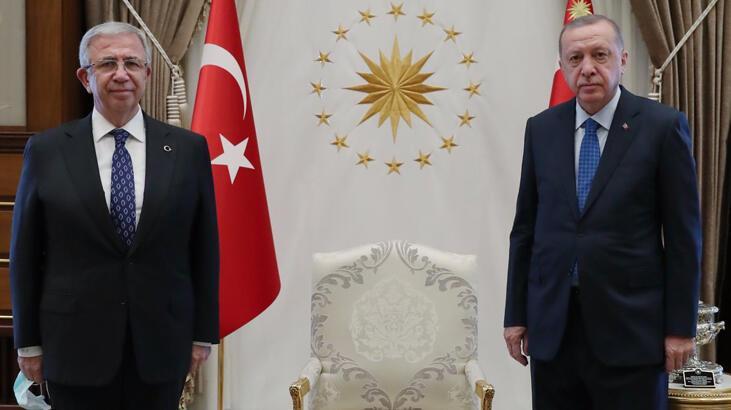 Son dakika... Baş başa ilk görüşme! Erdoğan- Yavaş buluşmasında neler konuşuldu?