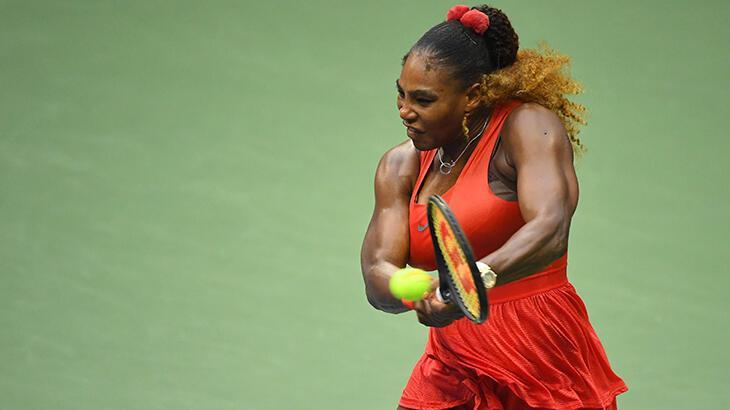 Serena Williams, ABD Açık'ta 2. tura yükseldi
