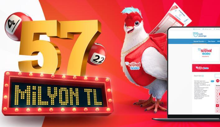 Çılgın Sayısal Loto'da rekor ikramiye 57 milyon TL | 2 Eylül Çılgın Sayısal Loto online oyna