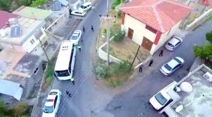 İskenderun'da özel harekat polislerinin de desteğiyle operasyon: 7 gözaltı