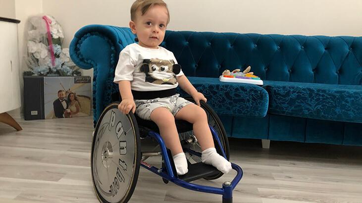 SMA hastası minik Gökalp'e bağışta mutlu son