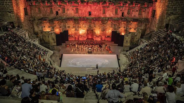 27. Uluslararası Aspendos Opera ve Bale Festivali'nde gala heyecanı