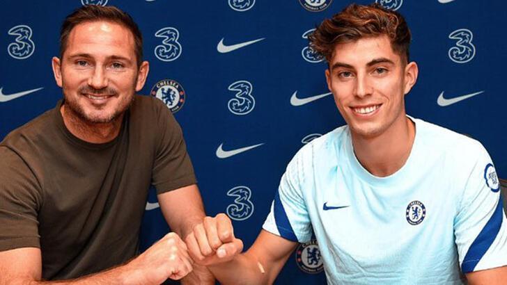 Son dakika | Chelsea, Kai Havertz'i resmen açıkladı! Rekor bonservis...