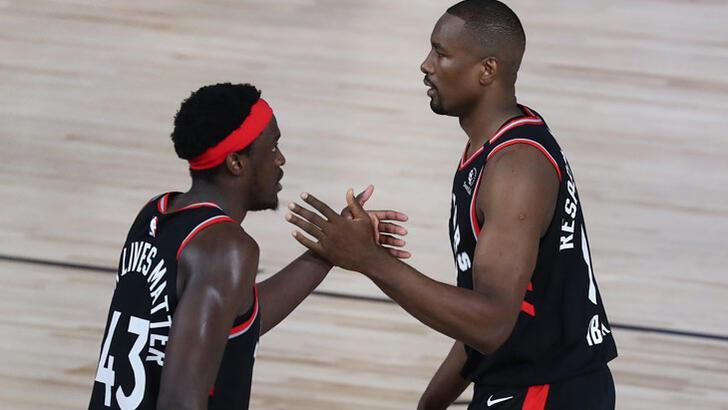NBA'de Toronto seriyi eşitledi: 2-2