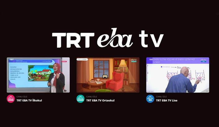 EBA canlı ders ortaokul, lise, ilkokul   EBA TV canlı ders nasıl izlenir?