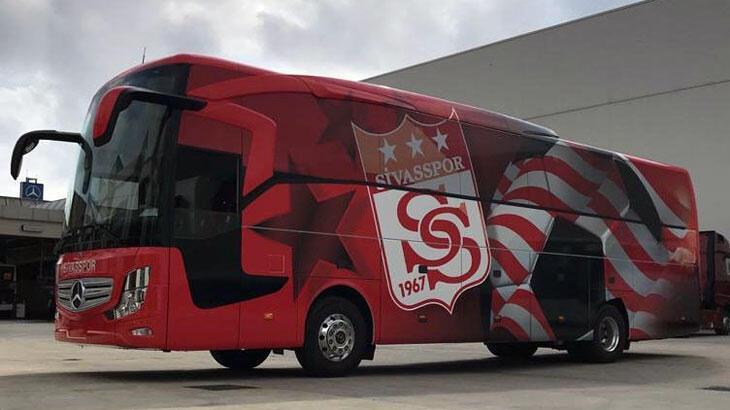 Sivasspor'un yeni takım otobüsü hazır