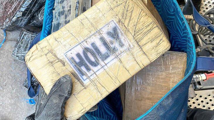 Muz yüklü konteynerde 112 kilo uyuşturucu ele geçirildi