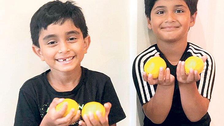 Limonata satan çocuklara bağış
