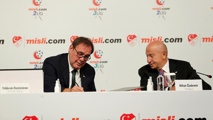 2. ve 3. Lig kulüplerinde Misli.com sevinci: Can suyu oldu