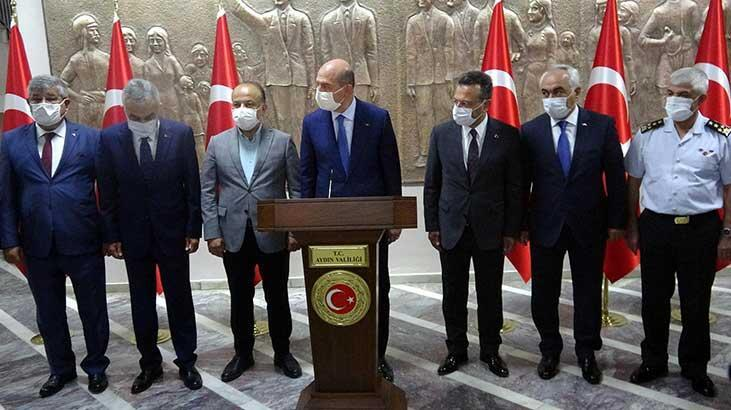 İçişleri Bakanı Süleyman Soylu Aydın'da