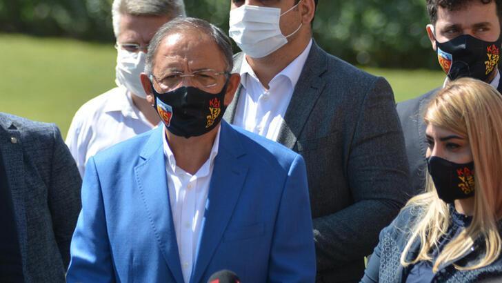 Mehmet Özhaseki'den Kayserispor'a ziyaret