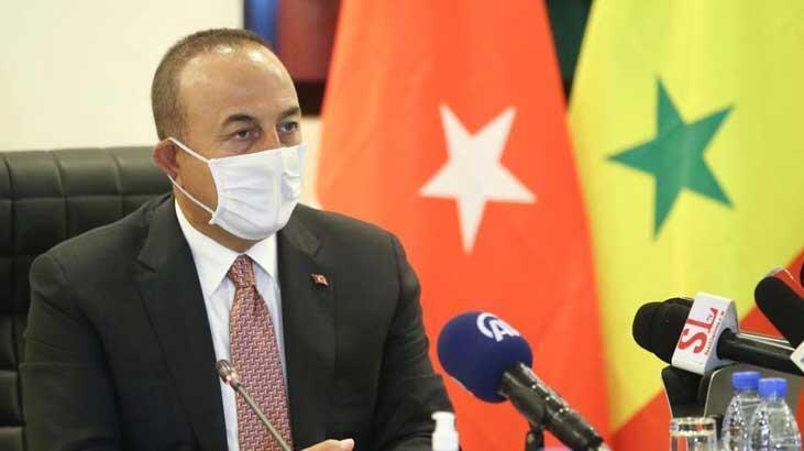 Bakan Çavuşoğlu Senegal'de açıkladı: 'Kendilerine söyledim'
