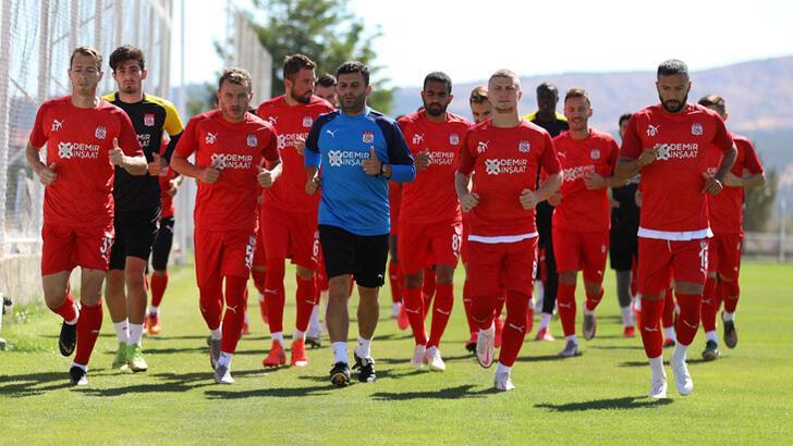 Sivasspor, Alanyaspor maçı hazırlıklarını tamamladı