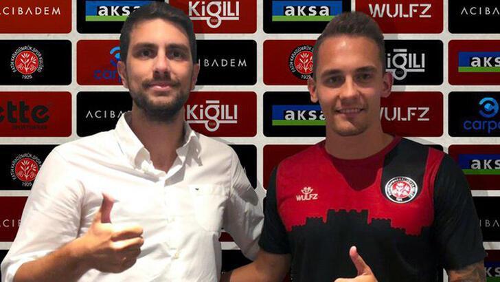 Transfer haberleri | Karagümrük, Balkovec'i transfer etti