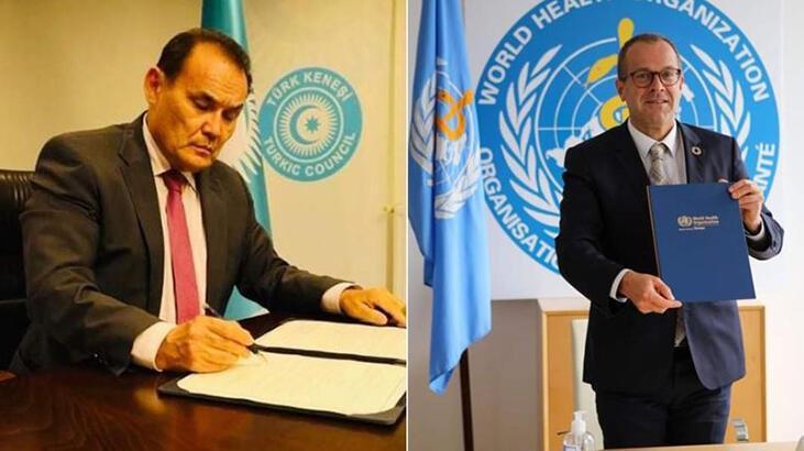Türk Konseyi ile DSÖ arasında 'iş birliği mutabakat zaptı' imzalandı