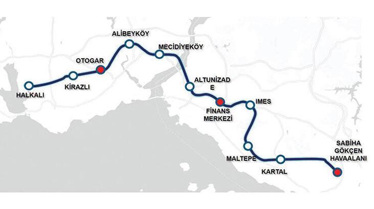 İstanbul'a hızlı metro geliyor! 55 dakika sürecek