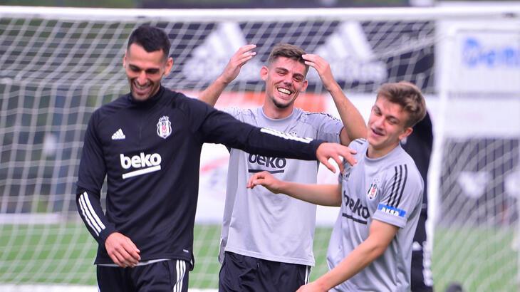 Beşiktaş, Trabzonspor maçının hazırlıklarını tamamladı