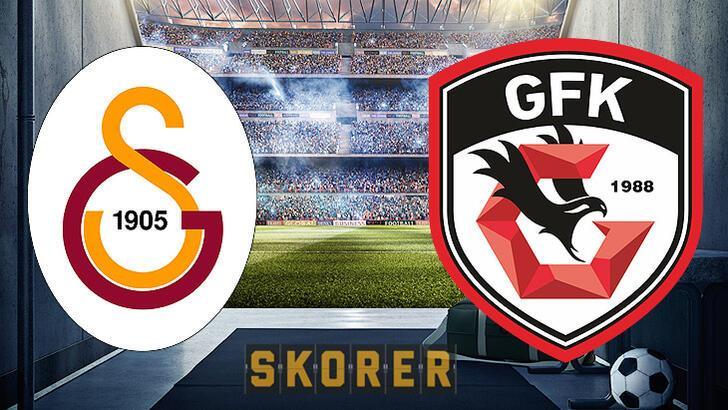 Galatasaray'dan sürpriz 11! Gaziantep FK karşısında...