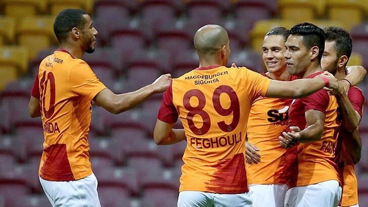 Galatasaray'da 'En'lerin adamı Belhanda!