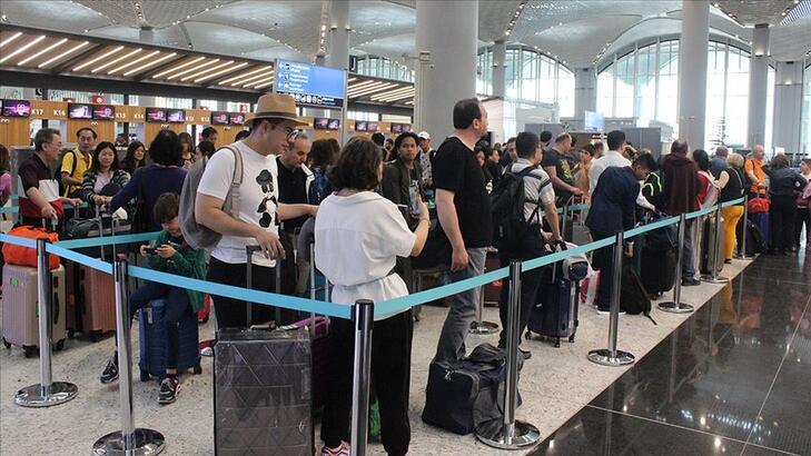 Rakam açıklandı! Yaz aylarında 7,5 milyon yolcu uçtu
