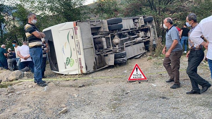 Maden işçilerini taşıyan otobüsten bir acı haber daha!