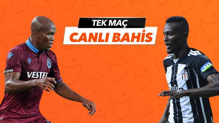 Trabzonspor - Beşiktaş karşılaşmasında Canlı Bahis heyecanı Misli.com'da!