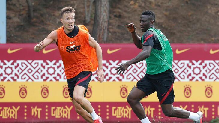 Galatasaray, Neftçi Bakü hazırlıklarına başladı