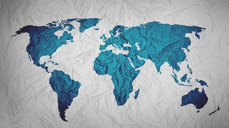 Dünya Sular Çoğrafyası Haritası: Denizler, Göller, Akarsular Ve Boğazlar Hakkında Bilgiler