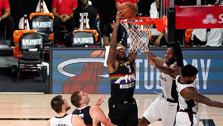 NBA'de Denver Nuggets, seriyi son maça taşıdı