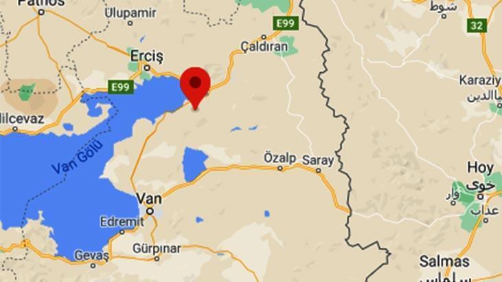 Son dakika: Van'da 3.4 büyüklüğünde deprem