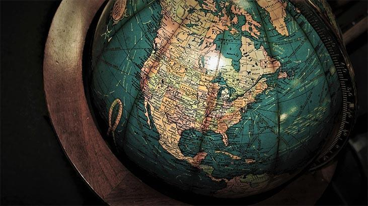 Kuzey Amerika Haritası (Fiziki & Siyasi): Kuzey Amerika Kıtasında Olan Ülkeler, Akarsular, Göller Nelerdir?