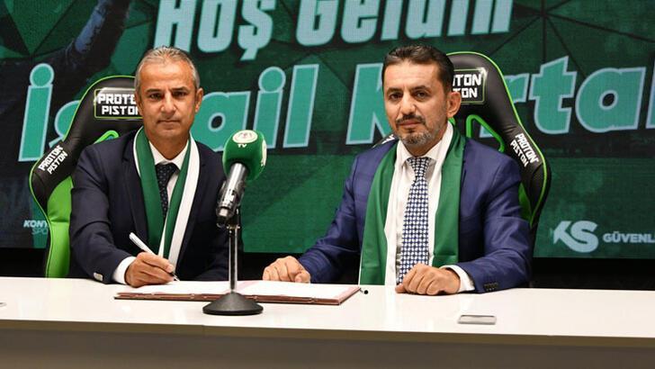 Son dakika | Konyaspor'da İsmail Kartal imzaladı! Serdar Kesimal...