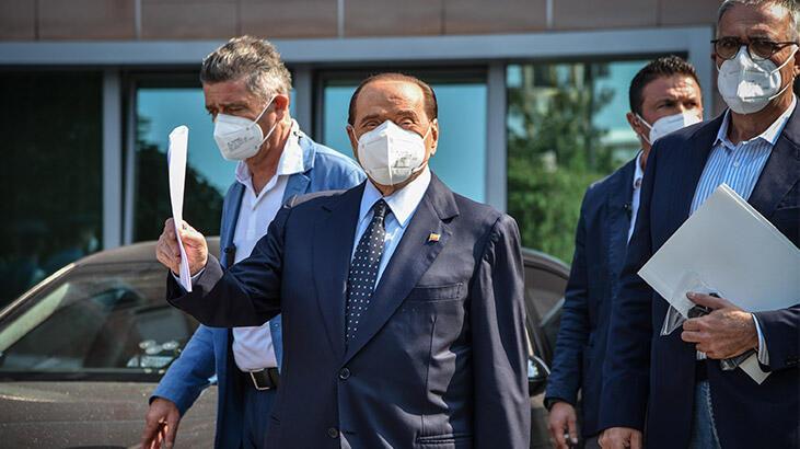 Koronavirüs tedavisi gören Berlusconi taburcu oldu