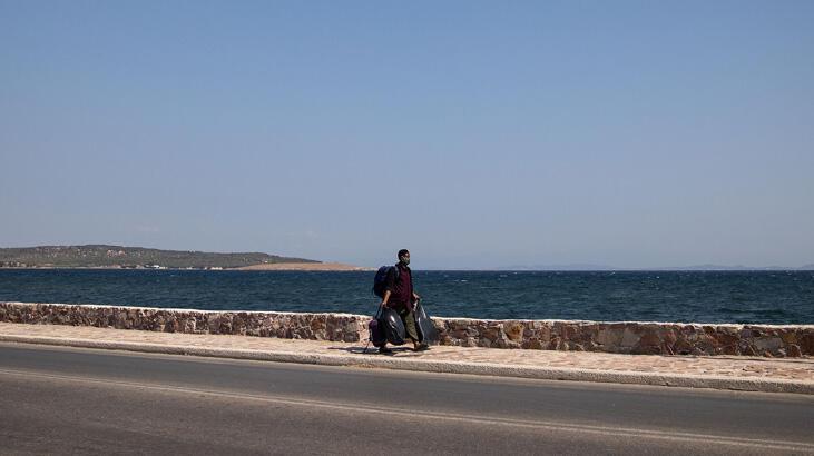 Midilli sığınmacılarına anakara yolu kapandı