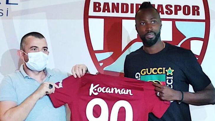 Transfer haberleri | Ünlü yıldız Lacina Traore Bandırmaspor'a imza attı!