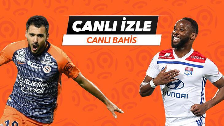 Montpellier - Lyon maçı Tek Maç ve Canlı Bahis seçenekleriyle Misli.com'da