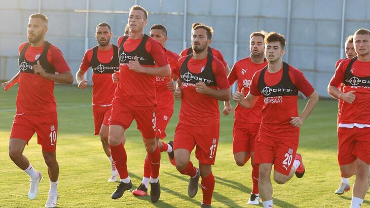 Sivasspor'da Erzurumspor mesaisi başladı