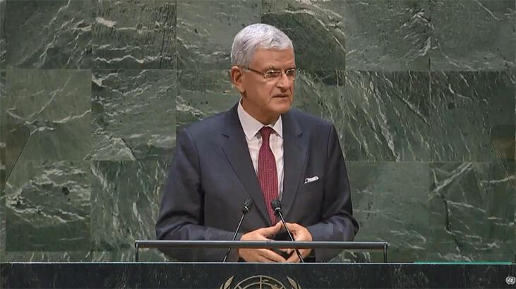 BM 75. Genel Kurul Başkanlığı'na seçilen Bozkır, görevi devraldı