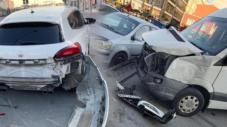 Şoför direksiyon başında fenalaştı, faciadan dönüldü