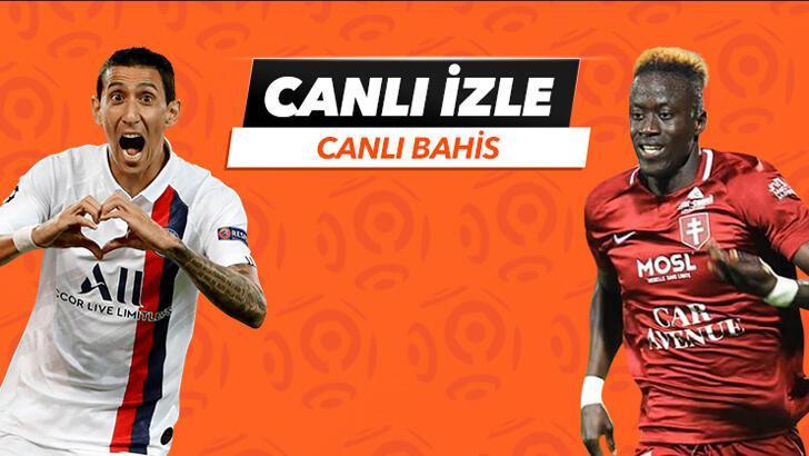 PSG - Metz karşılaşmasında Canlı Bahis heyecanı Misli.com'da!