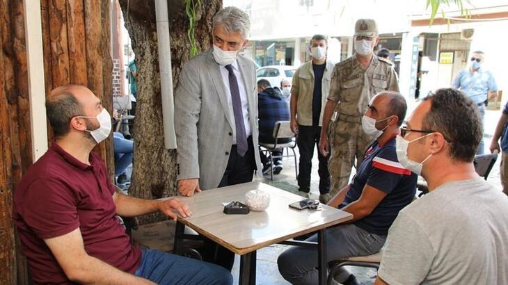 Erzincan'da 366 kişi ve 59 iş yerine Covid-19 cezası!