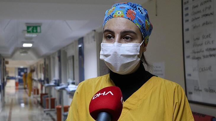 Koronavirüsü yenen hemşire konuştu! Biz tek başımıza savaşamayız